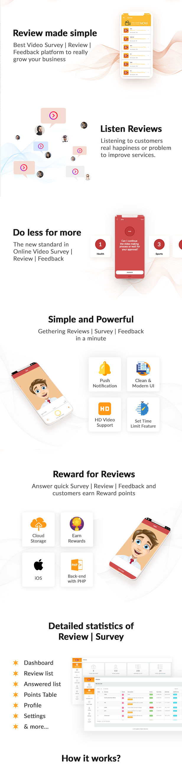 Product Review | Survey | Feedback through Video (iOS) - 1